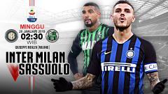 Indosport - Pertandingan Inter Milan vs Sassuolo