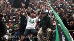Indosport - Aksi Brigata Curva Sud (BCS)