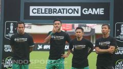 Indosport - Pemain PSS Sleman di Celebration Game