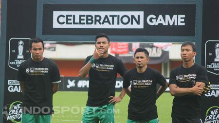 Pemain PSS Sleman di Celebration Game - INDOSPORT