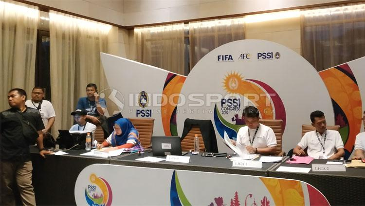 Kongres PSSI. Copyright: Fitra Herdian/PSSI