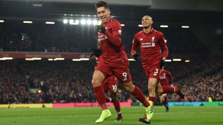 Detik-detik Roberto Firmino pamer skill yang mampu pecundangi tiga pemain Arsenal di pekan ketiga Liga Inggris 2019/20. - INDOSPORT
