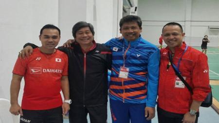 Reonny Mainaky, Herry Iman Pierngadi, Agus Dwi Santoso, dan Rexy Mainaky. - INDOSPORT