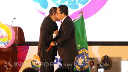 Selanjutnya Joko Driyono otomatis akan menggantikan posisi Edy Rahmayadi menjadi Ketum PSSI. - INDOSPORT