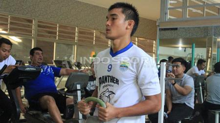 Zalnando saat menjalani latihan bersama Persib Bandung. - INDOSPORT