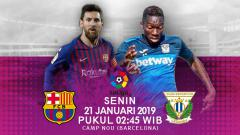 Indosport - Prediksi Barcelona Vs Leganes