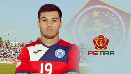 Khurshed Beknazarov pesepak bola asal Tajikistan resmi gabung PS TIRA - INDOSPORT