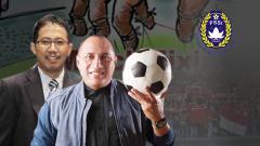 Indosport - PR yang Ditinggalkan Edy Rahmayadi untuk Joko Driyono sebagai Ketua Umum PSSI.