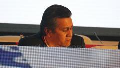 Indosport - Gusti Randa dalam Congress PSSI 2019.