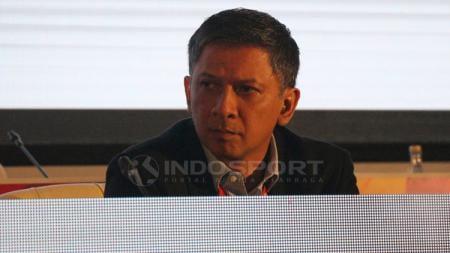 Iwan Budianto dalam kongres PSSI 2019. - INDOSPORT
