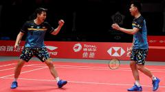 Indosport - Marcus Fernaldi Gideon/Kevin Sanjaya