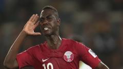 Indosport - Striker Timnas Qatar, Almoez Ali.