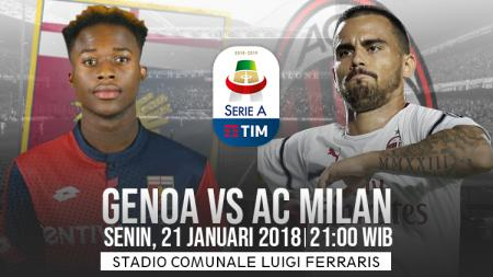 Prediksi pertandingan Genoa vs AC Milan - INDOSPORT
