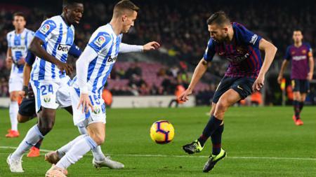 Barcelona vs Leganes. - INDOSPORT