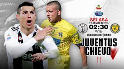 Pertandingan Juventus vs Chievo