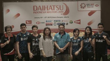 Indonesia Masters 2019 akan berlangsung di Istora, Senayan - INDOSPORT