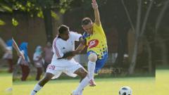 Indosport - Wijay, pemain keturunan India yang membela Sriwijaya FC