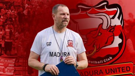 Dejan Antonic, pelatih Madura United - INDOSPORT