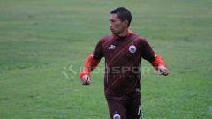 Indosport - Ismed Sofyan masih mengikuti sesi latihan pada sore hari tadi