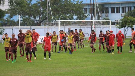 Suasana Latihan Persija Jakarta sore tadi di lapangan Sutasoma, Halim Perdanakusuma