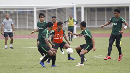 Latihan Timnas U-22 - INDOSPORT