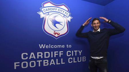 Rekrutan anyar Cardiff City dari Nantes, Emiliano Sala. - INDOSPORT
