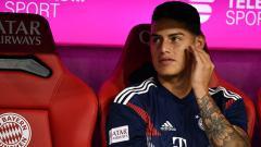Indosport - James Rodriguez, playmaker Bayern Munchen.