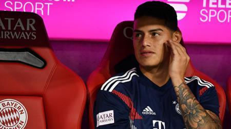 James Rodriguez, playmaker Bayern Munchen pinjaman dari Real Madrid yang tengah diincar Napoli. - INDOSPORT