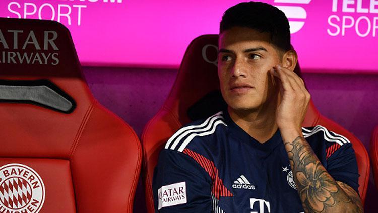 James Rodriguez, playmaker Bayern Munchen. Copyright: INDOSPORT