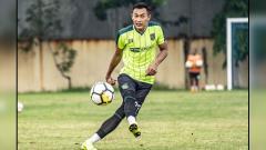 Indosport - Hansamu Yama, pemain baru Persebaya Surabaya.
