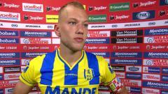 Indosport - Jan Lammers ketika masih berseragam RKC Waalwijk di Liga Utama Belanda.