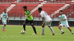 Sesi latihan Persebaya Surabaya jelang pertandingan Piala Indonesia.