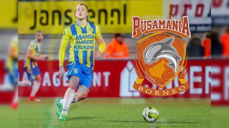 Jan Lammers, pemain baru Borneo FC. - INDOSPORT