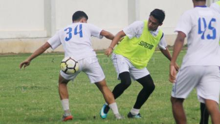 Suasana latihan pemain PSIS Semarang. - INDOSPORT