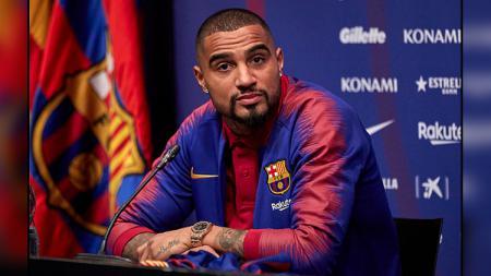 Kevin-Prince Boateng, pemain anyar Barcelona yang dipinjam dari Sassuolo. - INDOSPORT