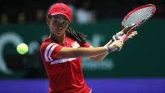 Indosport - Priska Madelyn Nugroho mengalami penurunan ranking setelah berlaga di Wimbledon Junior 2019.