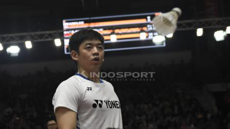 Lee Yong Dae/Kim Gi Jung di ajang Indonesia Maters 2019. - INDOSPORT