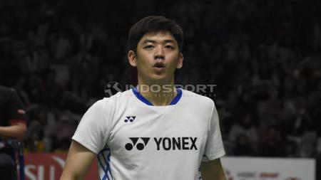 Lee Yong Dae/Kim Gi Jung di ajang Indonesia Maters 2019 - INDOSPORT
