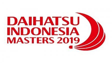 Logo Indonesia Masters 2019. - INDOSPORT