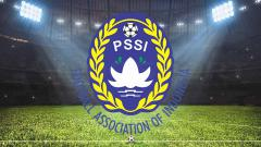 Indosport - Logo Persatuan Sepak Bola Seluruh Indonesia (PSSI).
