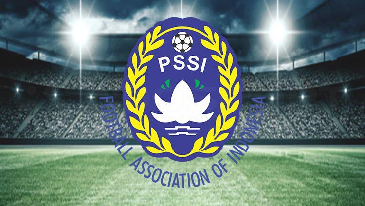 Logo PSSI. Copyright: Tiyo Bayu Nugroho/INDOSPORT