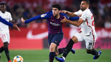 Sevilla vs Barcelona. - INDOSPORT