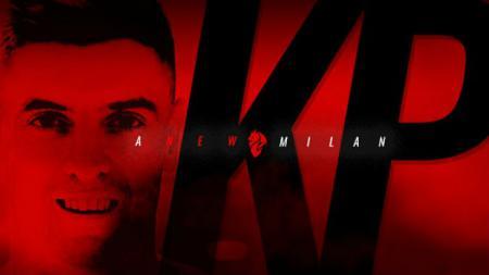 Krzysztof Piatek resmi ke AC Milan. - INDOSPORT
