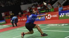 Indosport - Gregoria Mariska Tunjung di Indonesia Masters 2019