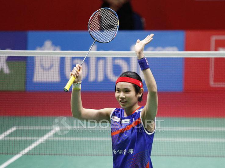 Tai Tzu-ying atlet Bulutangkis asal Taiwan Copyright: Herry Ibrahim/INDOSPORT