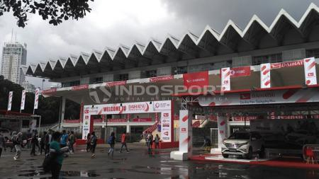 Istora Senayan, venue berlangsungnya ajang Indonesia Open 2019. - INDOSPORT