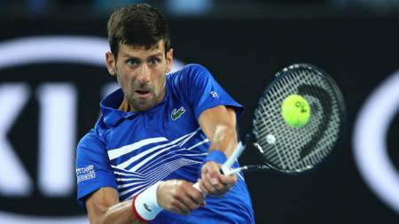 Novak Djokovic di Australia Terbuka 2019. - INDOSPORT
