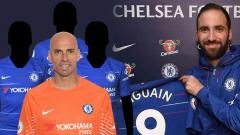 Indosport - Higuain harus waspada, empat pemain ini jadi bukti pesepak bola Argentina selalu gagal di Chelsea
