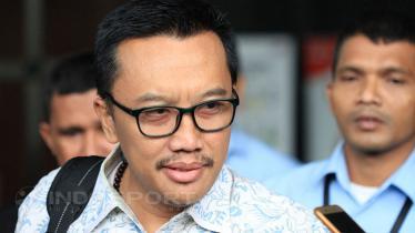 Menpora Imam Nahrawi turut mendukung tim Indonesia yang berlaga di Piala Sudirman 2019. Muhammad Nabil/INDOSPORT. - INDOSPORT