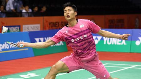 Chou Tien Chen, pebulutangkis Taiwan membuat kehebohan di ajang Indonesia Open 2019. - INDOSPORT